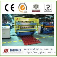 Machine de formage de tuiles en acier