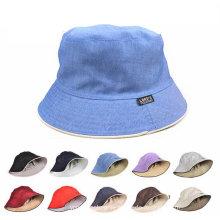 Algodão Multi Cores Plain Blank Cheap Promoção Custom Bucket Chapéus