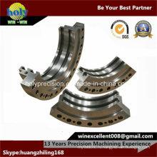 CNC нержавеющей стали подвергая механической обработке с анод