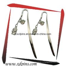 Пользовательская красивая металлическая закладка для сувенирных подарков (A16)