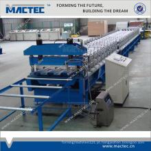 Máquina de decking de piso de aço galvanizado de alta qualidade padrão europeu