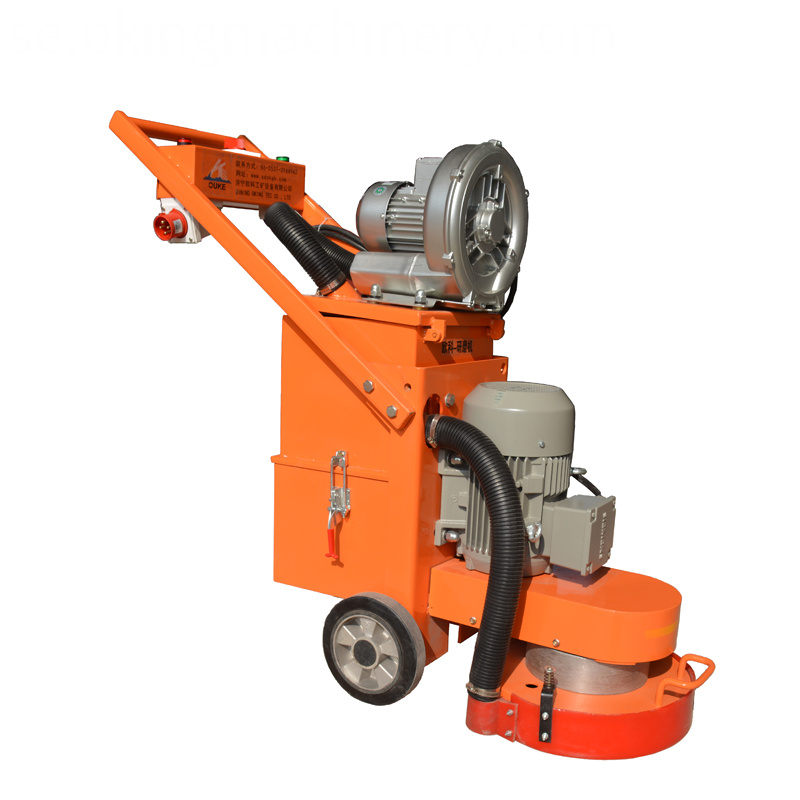 Single Phase Concrete Floor Grinding Machine