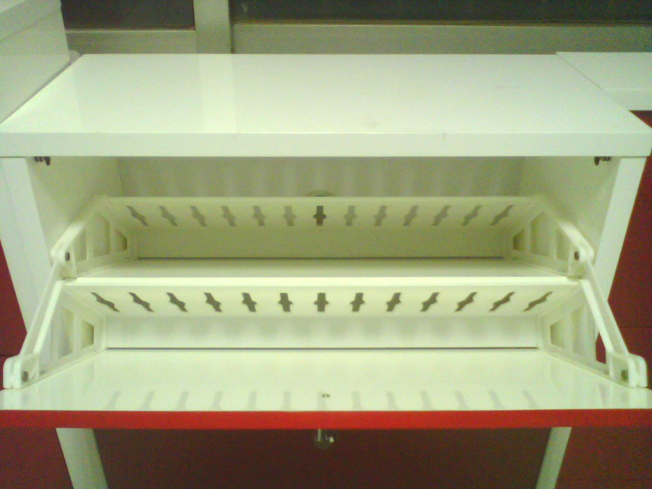 shoe rack fittings in plastic