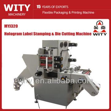 Label Heißprägemaschine (Etikettenhologrammmaschine)