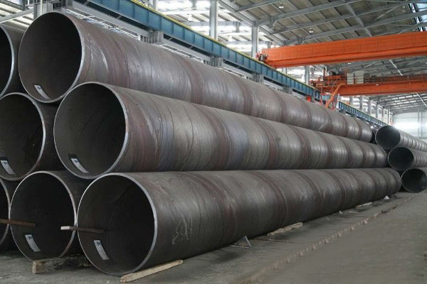 large diameter round steel pipe for building material