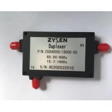 Duplexor de 6 a 18 GHz