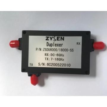 Duplexeur 6 à 18 GHz