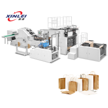 Máquina de saco de papel totalmente automática (cabo Die Cut)