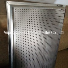 Durable perforated aluminum panel tray