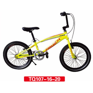 Yellow Color BMX Freestyle Bicycle 20inch