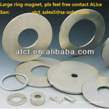 Huge Industrial Permanent NdFeB Speaker Magnet With Zn Coating