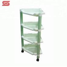 Storage living room plastic kitchen shelf for kitchen