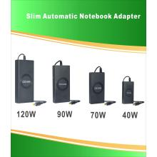 Universal super thin power adapter
