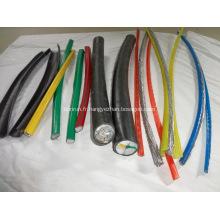 Couvert de câbles électriques en cuivre fil écorce éplucheur
