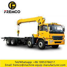 16 Ton Crane Truck For Logistic Handling