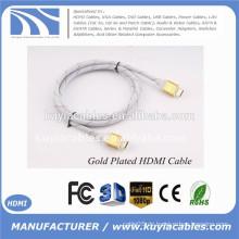 Gold HDMI zu hdmi Kabel für 1080p PS3 HDTV