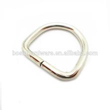 Moda de alta qualidade de metal aço inoxidável D anel