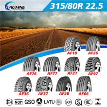 Aufine todo de acero neumático para camión R17.5 y R19.5