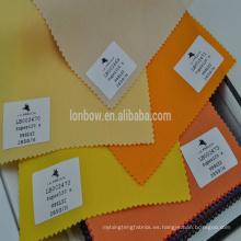 Venta caliente Wool / 98 Lycra / 2 tela colorida para el vestido / trajes