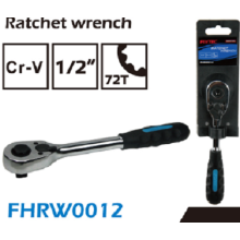 "FIXTEC hand tools 1/2"" 72TEETH RATCHET WRENCH"