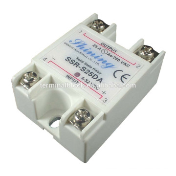 SSR-S25DA Zero Crossing Single Phase Solid State 24V DC Relay