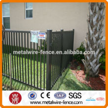 galvanized steel pipe fence