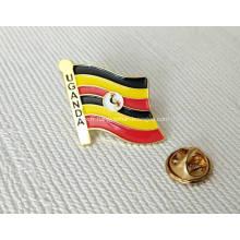 Badges de Pin marqués par conception faite sur commande en gros avec le logo