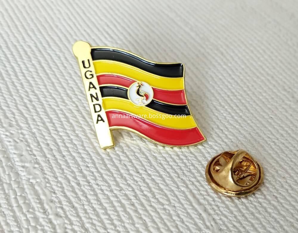 Flag Lapel Pin Enamel