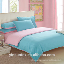 Solid Colour Microfiber Bedding Fitted Sheet