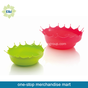 Elastic Plastic Ice Cream Bowl