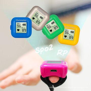 Dispositivo portátil para monitorizar el oxígeno de la sangre