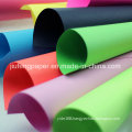 Terrific Pure Wood Pulp Dyed Colorful Paper