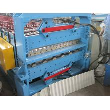 Doppelschicht-Walzenformmaschine für Dachplatten