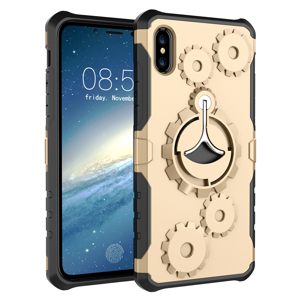 Case with ring holder for iPhone 8