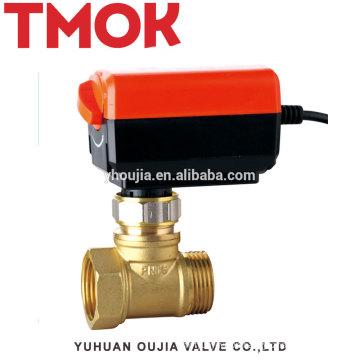 FxM Thread Forged Brass Electric globe valve