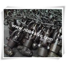 Válvula de globo forjada parafusada de alta qualidade para estoque (J41Y-NPT)