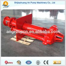 Pompe de puisard vertical électrique centrifuge pour l'exploitation minière