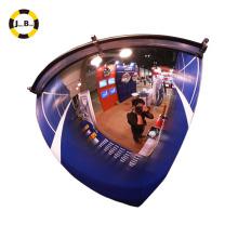 Espelho de abóbada de 1/4 de polegada de 36 polegadas 1 / 4dome ângulo de segurança de tráfego de excelente visibilidade de 90 graus
