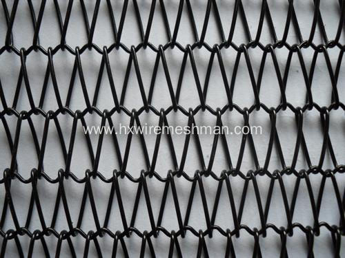 Cooling Spiral Wire Mesh Belt for Frozen Food Industry