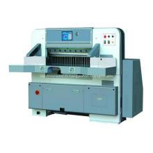 Machine de guillotine de papier d'écran tactile