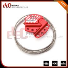 Elecpopular China Top Ten Verkauf Produkte Sicherheit Kabel Lockout Verstellbare Sicherheitsschloss 4mm
