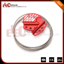 Elecpopular China Top Ten Selling Products Bloqueo del cable de seguridad Bloqueo de seguridad ajustable 4mm