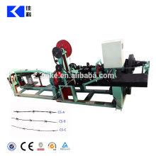 Galvanisierter PVC-überzogener Stacheldraht, der Maschine herstellt