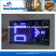 Lift digital indicator for COP and LOP