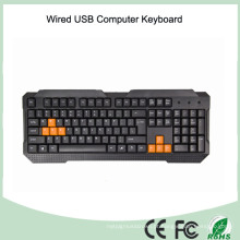 China fábrica buttom preço legal design normal teclado com fio (kb-1688)