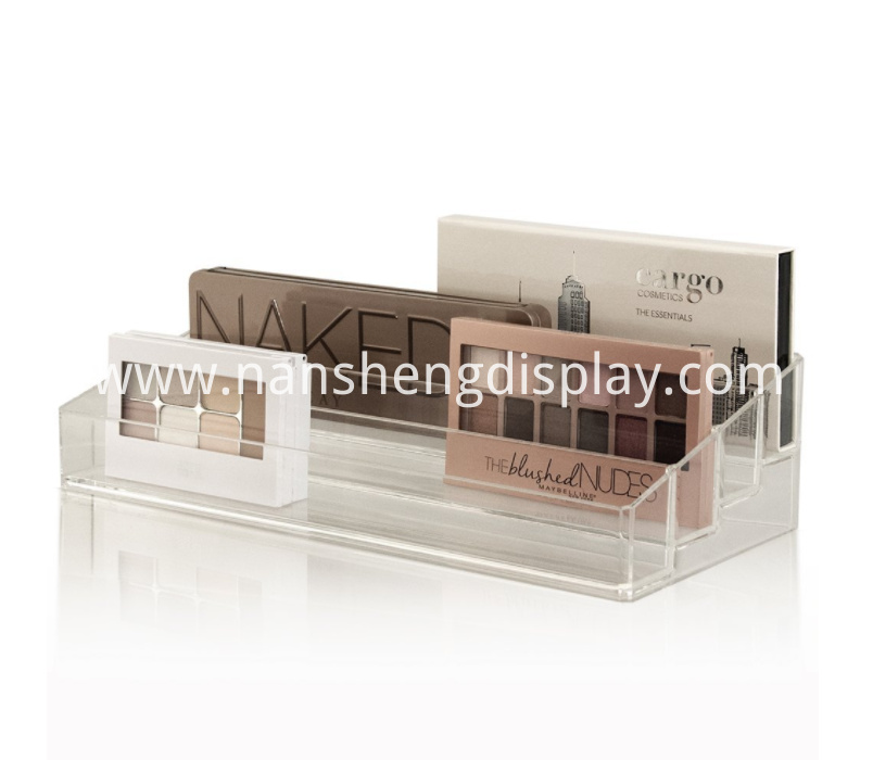 Multi-Level Makeup Palette Storage Organizer