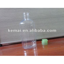 Flip top cap bottle