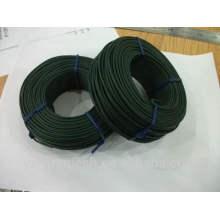 Galvanizado y alambre revestido del PVC / del recubrimiento del PVC