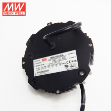 With stocks now Original MEANWELL 60W to 240W round shape led driver 60v ac/dc power supply HBG-160-60A