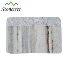 Stone kitchen utensil meat cutting board